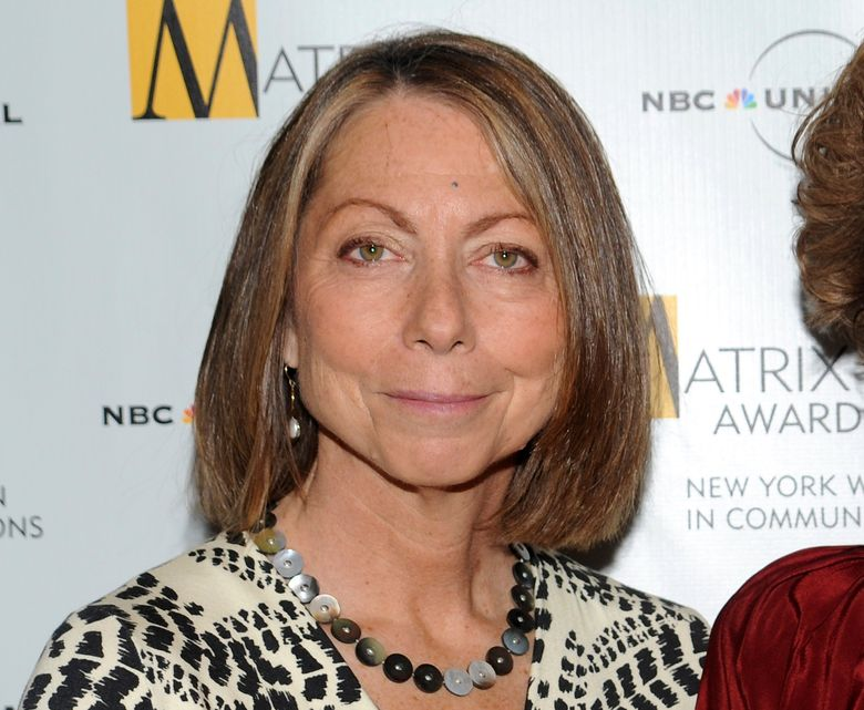 """FILE – In this April 19, 2010, file photo, Jill Abramson attends the 2010 Matrix Awards presented by the New York Women in Communications at the Waldorf-Astoria Hotel in New York. Abramson, the former editor of The New York Times, says that Fox News took her criticism of the newspaper's Trump coverage """"totally out of context"""" in a story that appeared Wednesday, Jan. 2, 2019. (AP Photo/Evan Agostini, File)"""