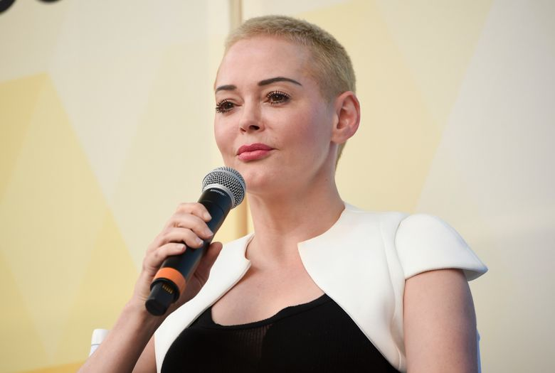 FILE – In this July 21, 2018 file photo, actress and activist Rose McGowan speaks at OZY Fest in Central Park in New York.   A lawyer for McGowan says she will plead no contest to a reduced drug charge in Virginia and avoid jail time. Attorney Jim Hundley says the commonwealth agreed to reduce the felony cocaine possession charge to misdemeanor possession of a controlled substance, and that prosecutors will recommend she pay a fine. McGowan will enter the plea Jan. 15, 2019 the day her trial was to begin.  (Photo by Evan Agostini/Invision/AP, File)