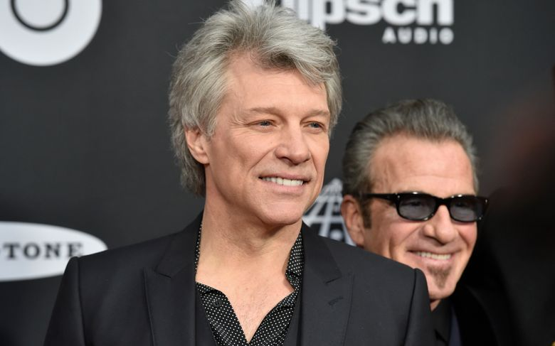 FILE – In this April 14, 2018 file photo, Jon Bon Jovi arrives at the red carpet before the Rock and Roll Hall of Fame induction ceremony in Cleveland. JBJ Soul Kitchen in Red Bank served up soups and entrees to furloughed federal employees and their families on Monday, Jan. 21. (AP Photo/David Richard, File)