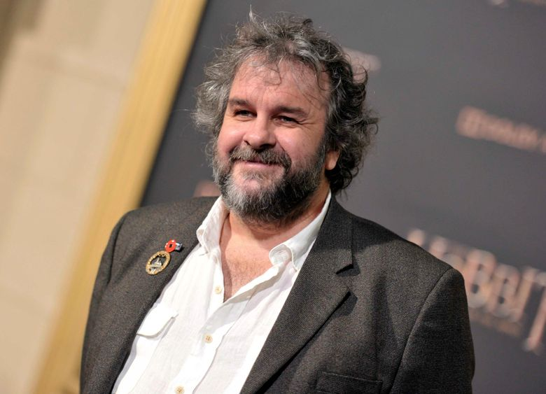 """FILE – In this Dec. 9, 2014 file photo, writer/director/producer Peter Jackson arrives at the Los Angeles premiere of """"The Hobbit: The Battle Of The Five Armies"""" in Los Angeles. Jackson announced Wednesday, Jan. 30, 2019,  that he is making a Beatles' farewell documentary ,""""Let It Be,"""" out of some 55 hours of footage, shot in January 1969, that has never been seen by the public.  (Photo by Richard Shotwell/Invision/AP, File)"""