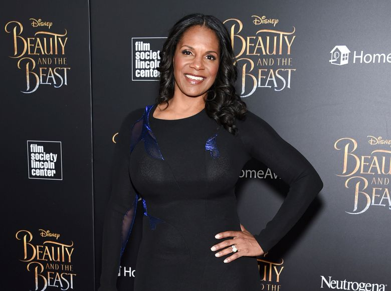 """FILE – In this March 13, 2017 file photo, actress Audra McDonald attends a special screening of Disney's """"Beauty and the Beast"""" in New York. McDonald, along with Michael Shannon, will star in a Broadway revival of the Terrence McNally romance """"Frankie and Johnny in the Clair de Lune"""" starting in May. (Photo by Evan Agostini/Invision/AP, File)"""