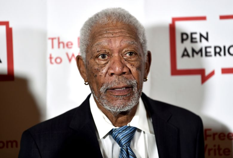 FILE – In this May 22, 2018 file photo, actor Morgan Freeman attends the 2018 PEN Literary Gala at the American Museum of Natural History, in New York. A man has been sentenced on Thursday, Jan. 17, 2019, to 20 years in prison for the fatal stabbing of Freeman's step-granddaughter in New York City. Prosecutors say 33-year-old Lamar Davenport stabbed his girlfriend E'Dena Hines multiple times in August 2015 while under the influence of alcohol and drugs. (Photo by Evan Agostini/Invision/AP, File)