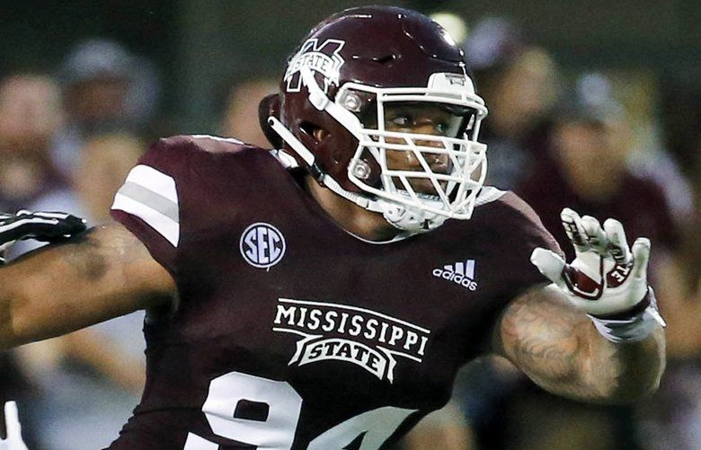 Mississippi State defensive tackle Jeffery Simmons. (Rogelio V. Solis / The Associated Press)