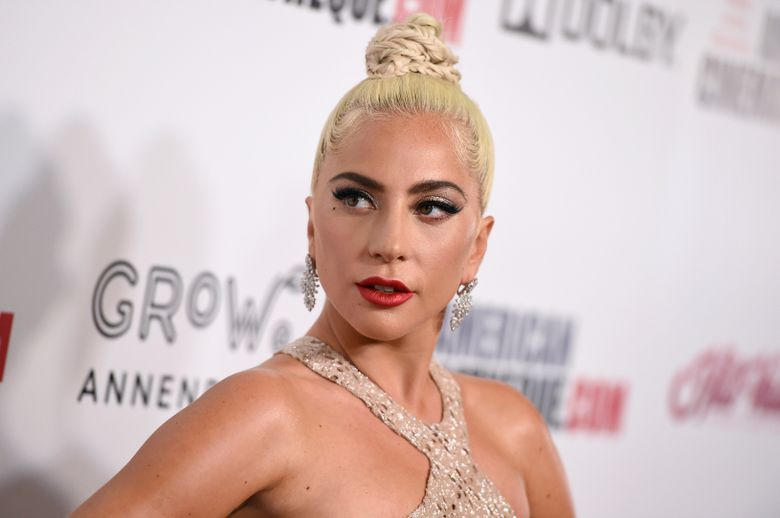 FILE – In this Nov. 29, 2018 file photo, Lady Gaga arrives at the American Cinematheque Award ceremony honoring Bradley Cooper in Beverly Hills, Calif. Lady Gaga and her fiance, talent agent Christian Carino, have split up. A representative for the singer-actress confirmed the news on Tuesday. No more details were provided. Lady Gaga, 32, and Carino, 49, began dating in 2017. She was previously engaged to actor Taylor Kinney. (Photo by Jordan Strauss/Invision/AP, File)