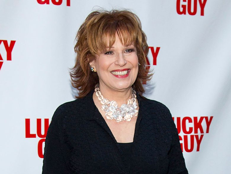 """FILE – In this April 1, 2013 file photo, TV personality Joy Behar arrives at the """"Lucky Guy"""" Opening Night in New York. A 2016 video clip has surfaced online of """"The View"""" co-host showing an old photo of herself as a """"beautiful African woman.""""  She displayed a photo of herself with curly hair when she was 29 years old. She said the hair was her own and had dressed as a """"beautiful African woman"""" at a Halloween party. (Photo by Dario Cantatore/Invision/AP, File)"""