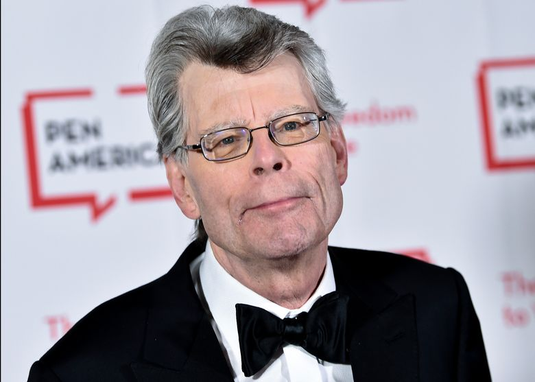 FILE – In this May 22, 2018, file photo, PEN literary service award recipient Stephen King attends the 2018 PEN Literary Gala at the American Museum of Natural History in New York. The master of the American horror novel and his wife Tabitha donated more than $1 million to the New England Historic Genealogical Society based in Boston. The nation's oldest and largest genealogical society announced Tuesday, Feb. 26, 2019, it will use the gift to develop educational programming that introduces family and local history to wider audiences and help the organization expand its headquarters. (Photo by Evan Agostini/Invision/AP, File)