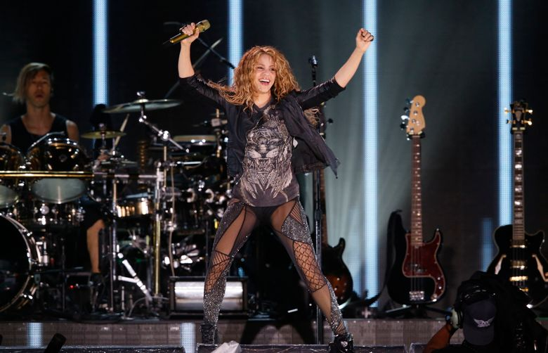 FILE – In this Oct. 11, 2018 file photo, Shakira performs at Azteca Stadium in Mexico City. A Spanish court investigating Shakira for possibly evading 14.5 million euros (16.4 million dollars) in taxes has called on the pop music star to testify in mid-June, 2019. Prosecutors charged the singer in December for not paying taxes in Spain between 2012 and 2014, when she lived mostly in the country despite an official residence in Panama. (AP Photo/Marco Ugarte, File)