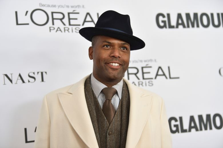 """FILE – In this Nov. 13, 2017 file photo, A.J. Calloway attends the 2017 Glamour Women of the Year Awards at Kings Theatre in New York. Calloway, a host on the syndicated entertainment news show """"Extra,"""" is suspended as his parent company investigates sexual misconduct allegations. The company said Saturday, Feb. 9, 2019, it had investigated prior charges against Calloway and found no suggestion of workplace misconduct. Calloway denies any misconduct. (Photo by Evan Agostini/Invision/AP, File)"""