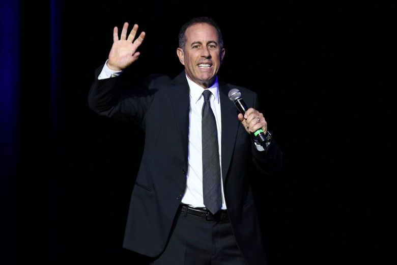 FILE – In this Nov. 1, 2016 file photo, Jerry Seinfeld performs at Stand Up For Heroes, presented by the New York Comedy Festival and the Bob Woodruff Foundation, at The Theater at Madison Square Garden in New York. Seinfeld was sued Friday, Feb. 1, 2019, by a company claiming it bought the comedian's 1958 Porsche for $1.5 million only to discover it was a fake. Fica Frio Limited's lawsuit was filed in Manhattan federal court against a comic known for his love of vintage cars. (Photo by Greg Allen/Invision/AP, File)