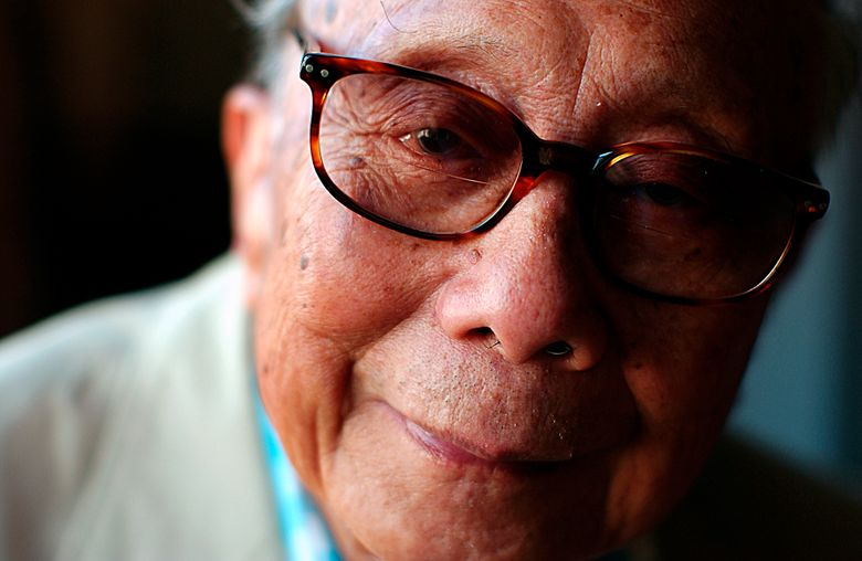 """FILE – This Sept. 28, 2002 file photo shows author C.Y. Lee in New York. Lee, 102, the author of the best-selling """"The Flower Drum Song"""" died on Nov. 8 in Los Angeles. The family decided at the time not to make his death public. (AP Photo/Gino Domenico, File)"""