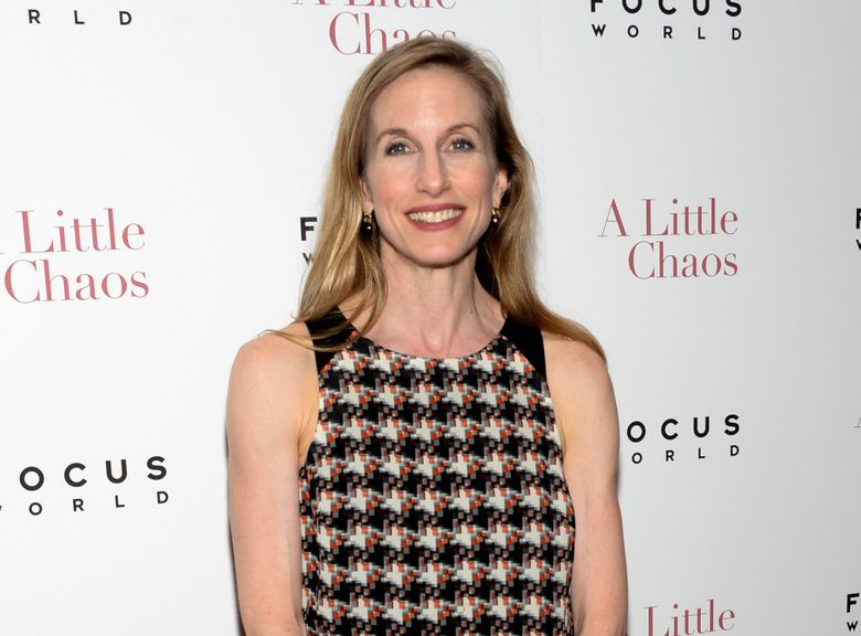 """FILE – This June 17, 2015 file photo shows Wendy Whelan at the premiere of """"A Little Chaos"""" in New York. The New York City Ballet has chosen two former dancers to lead the company after the scandal that ended with the retirement of longtime artistic director Peter Martins. The new artistic director is Jonathan Stafford. Whelan, a beloved dancer who performed with City Ballet for three decades, was named associate artistic director. (Photo by Evan Agostini/Invision/AP, File)"""
