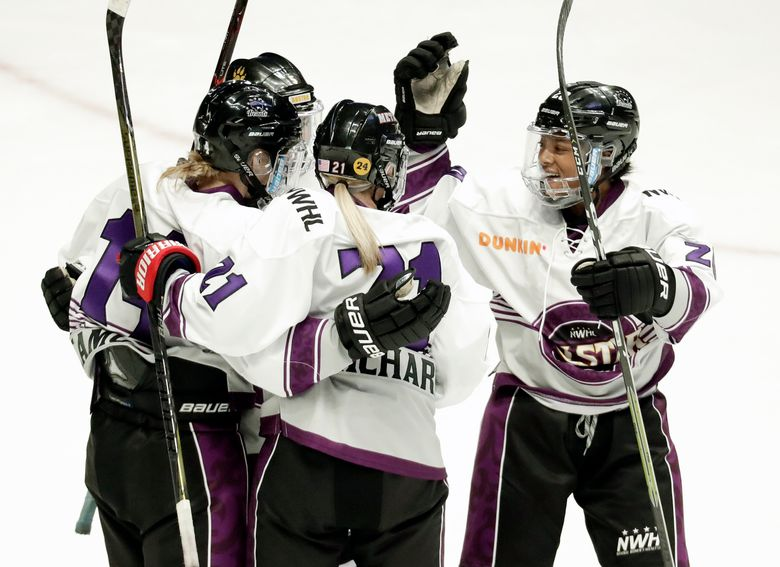 A scene from the National Womens Hockey League all-star game in Nashville last February. More than 200 players have boycotted the league ths season in hopes of forcing it to cease operations and pave the way for a broader female circuit financially backed by the NHL. (AP Photo/Mark Humphrey)