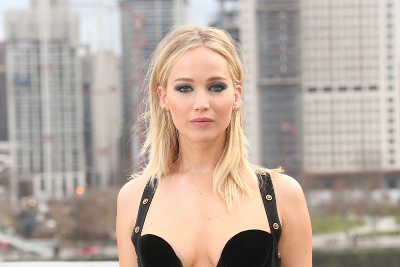 FILE – In this Feb. 20, 2018 file photo, actress Jennifer Lawrence poses for photographers at the photo call for the film 'Red Sparrow' in London.  Lawrence is getting married to boyfriend Cooke Maroney. Her publicist of Wednesday, Feb. 6, 2019 confirmed the 28-year-old Academy Award winner's engagement, but did not have any details. (Photo by Joel C Ryan/Invision/AP, File)