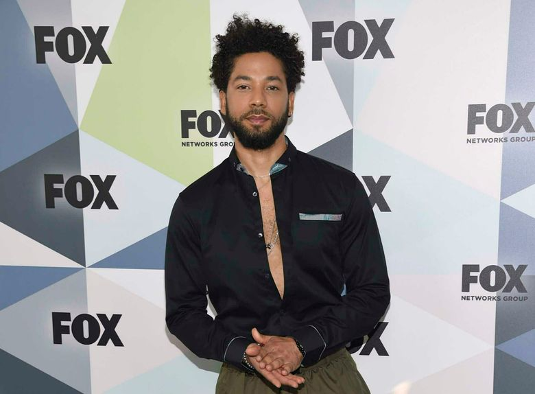"""FILE – In this May 14, 2018 file photo, Jussie Smollett, a cast member in the TV series """"Empire,"""" attends the Fox Networks Group 2018 programming presentation afterparty in New York.  A historically black women's college in North Carolina that's one of two such institutions left in the U.S. is trying to raise $5 million to stave off losing accreditation. Bennett College has reported sizeable donations as it closes in on its Friday, Feb. 1, 2019  fundraising deadline, aided by supporters of Smollett.  He told police he was attacked in Chicago this week. Just days before, he had appeared on MSNBC alongside university president Phyllis Dawkins to raise awareness of the school's plight.  (Photo by Evan Agostini/Invision/AP, File)"""