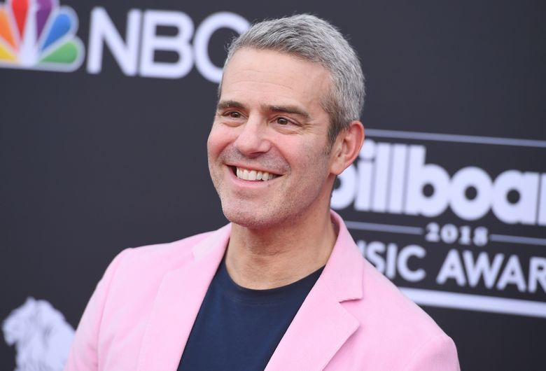"""FILE – In this May 20, 2018 file photo, Andy Cohen arrives at the Billboard Music Awards at the MGM Grand Garden Arena in Las Vegas. The """"Watch What Happens Live"""" host is a father.  The 50-year-old posted on Instagram that Benjamin Allen Cohen was born Monday, Feb. 4, 2019. He weighed 9 pounds 20 ounces (4 kilograms 649 grams) and is named for Cohen's grandfather.(Photo by Jordan Strauss/Invision/AP)"""