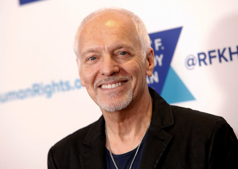 FILE – In this Dec. 13, 2017 file photo, Peter Frampton attends the 2017 Ripple of Hope Awards in New York. Doctors at Johns Hopkins University hope to raise awareness and funds for research following Frampton's announcement that he has a rare muscular disease. The disease causes weakness in the legs, forearms and fingers, and its cause is still unknown. As it will eventually prevent Frampton from playing guitar, the 68-year-old is embarking on a farewell tour this summer. (Photo by Andy Kropa/Invision/AP, File)