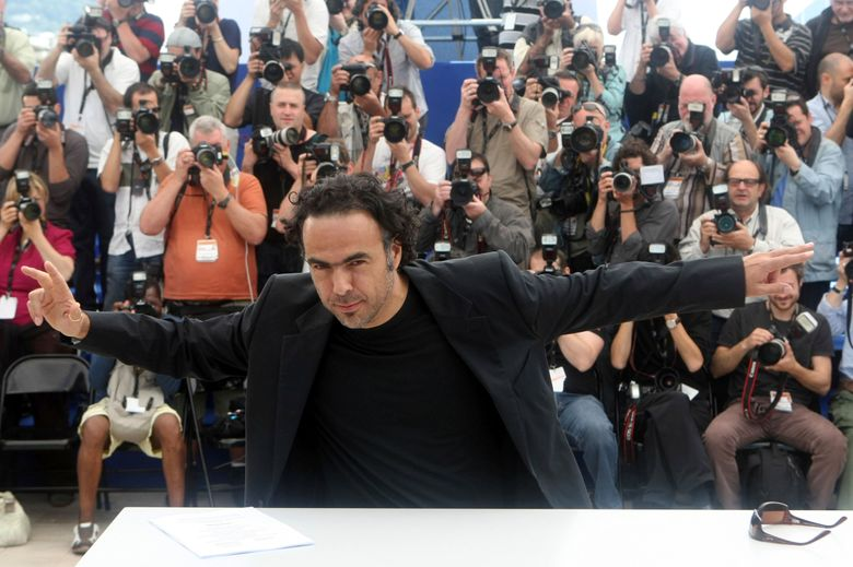 """FILE – In this Monday, May 17, 2010 file photo, director Alejandro Gonzalez Inarritu poses during a photo call for """"Biutiful"""", at the 63rd international film festival, in Cannes, southern France. Award-winning Mexican director Alejandro Gonzales Inarritu will preside over the jury at the 72nd Cannes Film Festival in May 2019, announced by the festival president Pierre Lescure on Wednesday Feb. 27, 2019. (AP Photo/Lionel Cironneau, File)"""