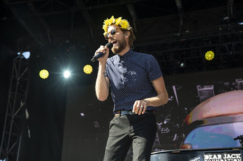 Andrew McMahon in the Wilderness, performing at the 2018 Ohana Festival in Dana Point, California, will be coming to the Moore on March 15. (Amy Harris / Invision / AP)
