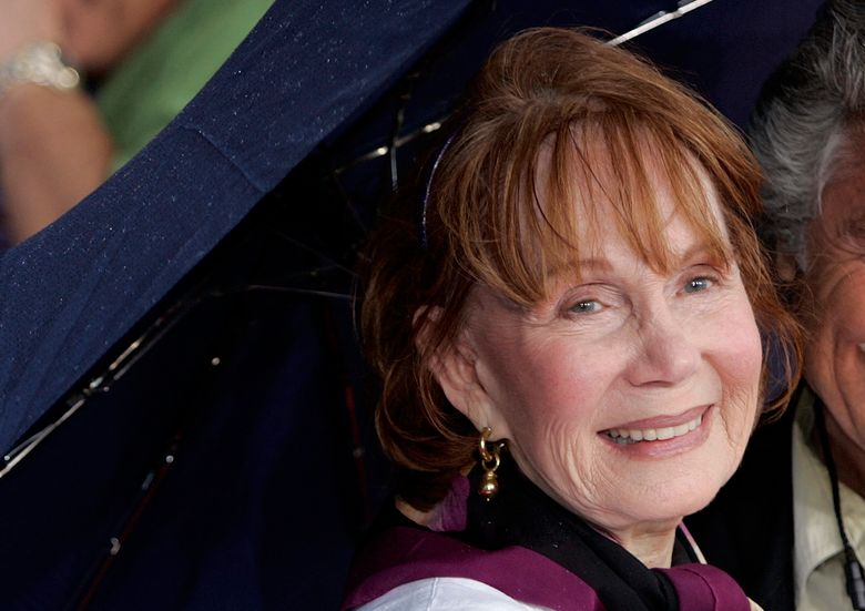 """FILE – In this May 26, 2006, file photo, Katherine Helmond arrives for the premiere of the Disney/Pixar animated film """"Cars"""" at Lowe's Motor Speedway in Concord, N.C. Helmond, best known as the grandmother who was hot for housekeeper Tony Danza on """"Who's The Boss,"""" died last Saturday, Feb. 23, 2019, of complications from Alzheimer's disease at her home in Los Angeles, her talent agency APA announced Friday, March 1, 2019. She was 89.  (AP Photo/Chuck Burton, File)"""
