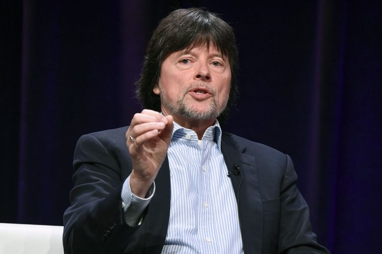 """FILE – In this July 30, 2017 file photo, Ken Burns participates in the """"The Vietnam War"""" panel during the PBS portion of the 2017 Summer TCA's in Beverly Hills, Calif. The Library of Congress will begin presenting an award named for Burns, who elevated the craft of historical documentaries. Officials announced on Tuesday, March5, 2019, the creation of the Library of Congress Lavine/Ken Burns Prize for Film. The annual award will recognize a filmmaker whose documentary uses original research and compelling narrative to tell stories about American history. The winner will receive a $200,000 grant to help with the final production of the film.  (Photo by Richard Shotwell/Invision/AP, File)"""