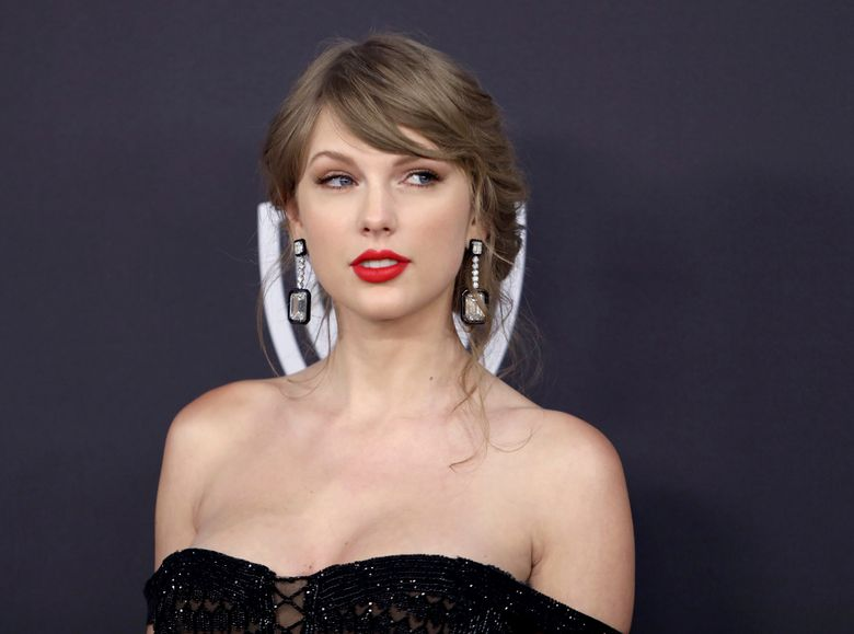 FILE – In this Jan. 6, 2019 file photo, Taylor Swift arrives at the InStyle and Warner Bros. Golden Globes afterparty at the Beverly Hilton Hotel in Beverly Hills, Calif. Roger Alvarado, recently sentenced to jail time for stalking Taylor Swift, was arrested again Thursday, March 7 on charges that he broke into her New York City home for the second time. (Photo by Matt Sayles/Invision/AP, File)