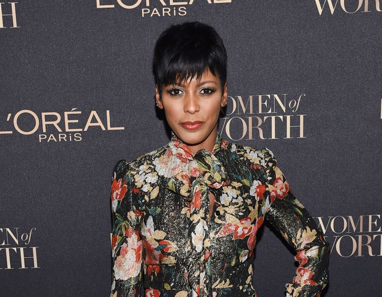 """FILE – This Nov. 16, 2016 file photo shows NBC """"Today"""" host Tamron Hall at the 2016 L'Oreal Women of Worth Awards in New York. The former NBC """"Today"""" show anchor and host on Monday, March 4, 2019 tweeted she's pregnant. Meanwhile, Walt Disney Direct-to-Consumer and International also announced the 48-year-old's syndicated talk show """"Tamron Hall"""" will premiere on Sept. 9.  (Photo by Evan Agostini/Invision/AP, File)"""