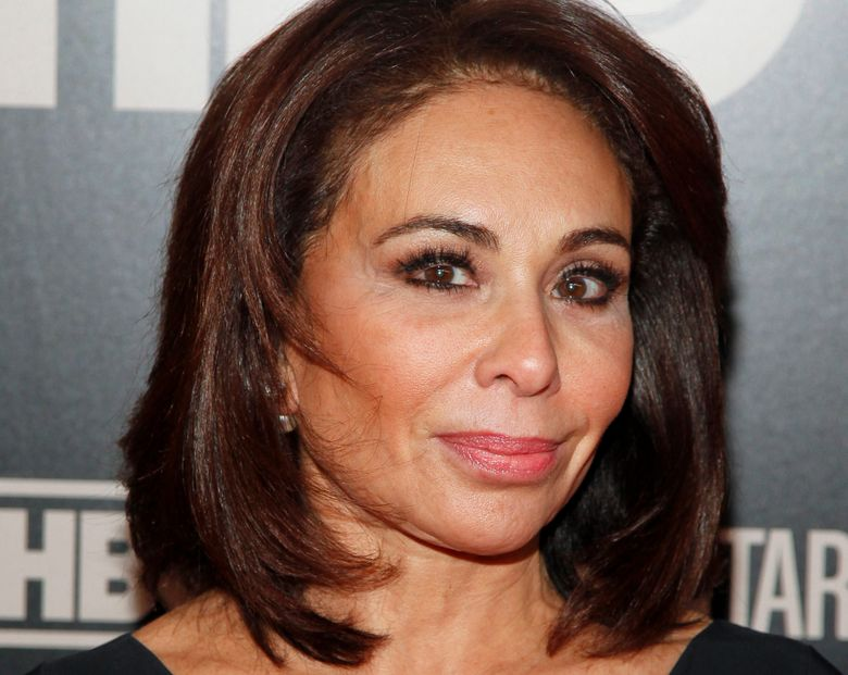 """FILE – In this Jan. 28, 2015, file photo, Jeanine Pirro attends the HBO Documentary Series premiere of """"THE JINX: The Life and Deaths of Robert Durst,"""" in New York. Fox News weekend host Pirro's show didn't air Saturday night, March 16, 2019, a week after her comments questioning U.S. Rep. Ilhan Omar over her wearing a Muslim head covering. No explanation was given. (Photo by Andy Kropa/Invision/AP, File)"""