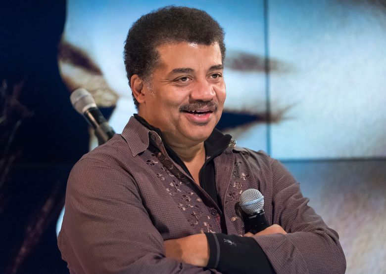 """FILE – In this Nov. 1, 2017 file photo, Neil deGrasse Tyson attends a fan event celebrating the release Kelly Clarkson's album """"Meaning of Life"""" at YouTube Space New York in New York. Tyson will return to the air on two TV shows that had been put on hold for a sexual misconduct investigation. The National Geographic Channel said in a statement Friday that Tyson's """"StarTalk"""" will return to the air in April with the 13 episodes that remain in the season. (Photo by Charles Sykes/Invision/AP, File)"""