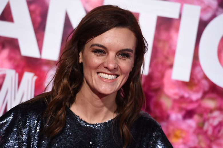 """FILE – In this Monday, Feb. 11, 2019, file photo, Frankie Shaw arrives at a premiere in Los Angeles. In an announcement Friday, March 8, 2019, Showtime said the comedy series """"SMILF"""" has been canceled. The announcement comes after a Hollywood Reporter story in December that detailed allegations of abusive on-set behavior and violation of industry rules by the show's creator and star Shaw. Shaw denied the allegations, saying she sought a safe and healthy set environment. (Photo by Jordan Strauss/Invision/AP, File)"""