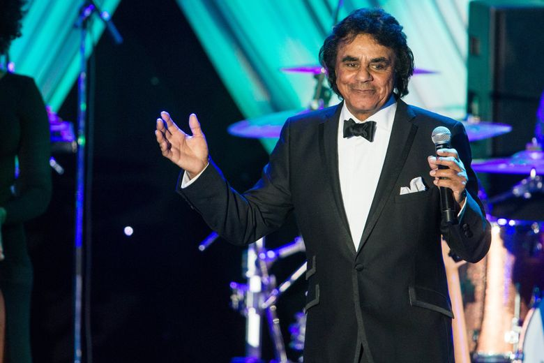 Johnny Mathis, shown here performing in 2015, comes to the Paramount on April 7. (Paul A. Hebert / Invision / AP)