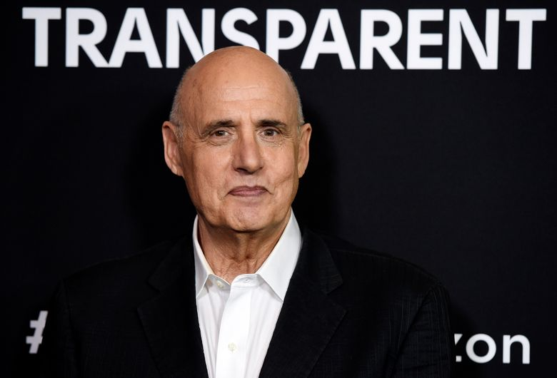 """FILE – This May 5, 2016 file photo shows Jeffrey Tambor, a cast member in the Amazon original series """"Transparent,"""" at a screening of the show at the Directors Guild of America in Los Angeles. Tambor's character will be killed off in the musical finale on the web TV series """"Transparent."""" He played the lead Maura, a late-in-life transgender parent, until he was fired last year following allegations of sexual misconduct. Tambor has denied the allegations. (Photo by Chris Pizzello/Invision/AP, File)"""