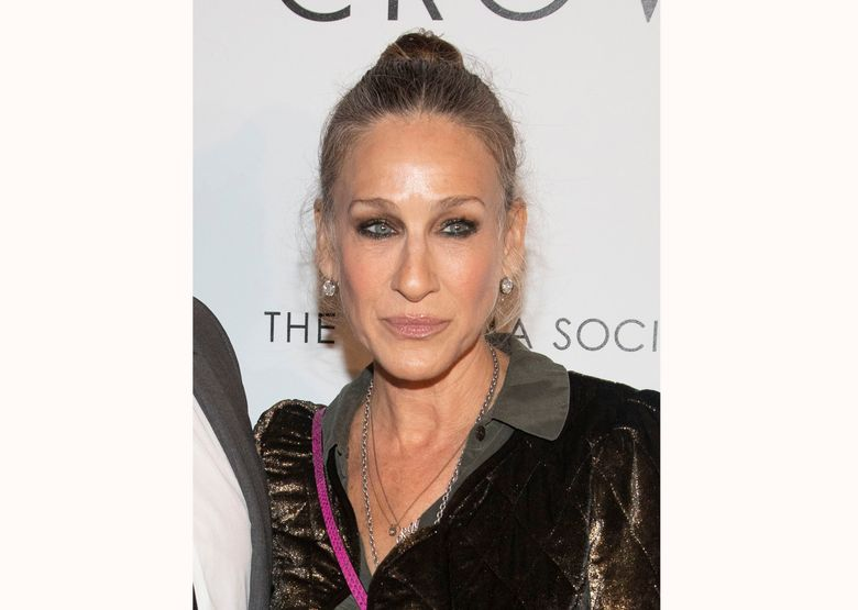 """FILE – This April 22, 2019 file photo shows actress Sarah Jessica Parker at a special screening of """"The White Crow"""" in New York. Parker and a British jeweler have settled a breach-of-contract lawsuit against the actress. Kat Florence Design sued Parker, arguing that she had agreed to promote a collaborative jewelry line of diamonds and other gems for a fee of $7.5 million but failed to live up to the obligation. (Photo by Andy Kropa/Invision/AP, File)"""