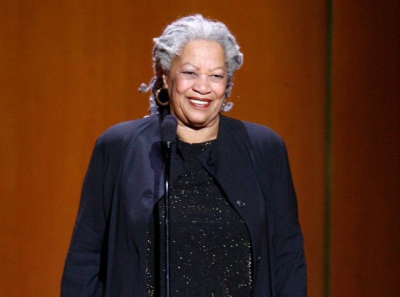 """FILE – In this Nov. 5, 2007 file photo Nobel Prize-winning author Toni Morrison appears at the 18th annual Glamour Women of the Year awards in New York. Morrison is being honored this spring by the American Academy of Arts and Letters. The academy announced Monday, April 29 that Morrison, celebrated for such novels as """"Beloved"""" and """"Song of Solomon,"""" is receiving a gold medal for lifetime achievement in fiction.  (AP Photo/Jason DeCrow, File)"""