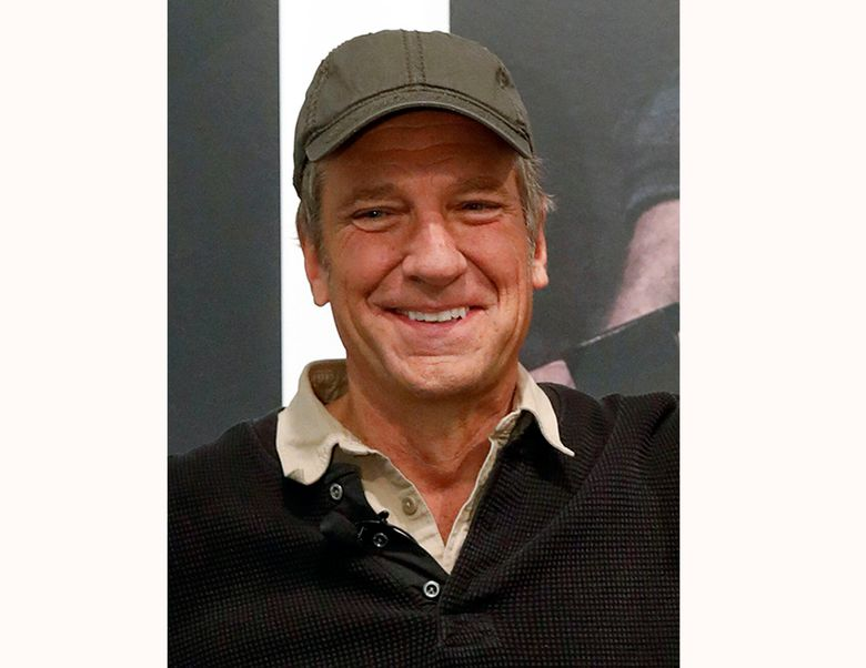 """FILE – This Nov. 14, 2018 file photo shows Mike Rowe, best known as host of """"Dirty Jobs"""" and CEO of the mikeroweWORKS Foundation appears in New York.  Gallery Books, an imprint of Simon & Schuster, announced Thursday, Aril 4, 2019, that Rowe is adapting material from his popular """"The Way I Heard It"""" for a book of the same name. (AP Photo/Andrew Kelly, File)"""