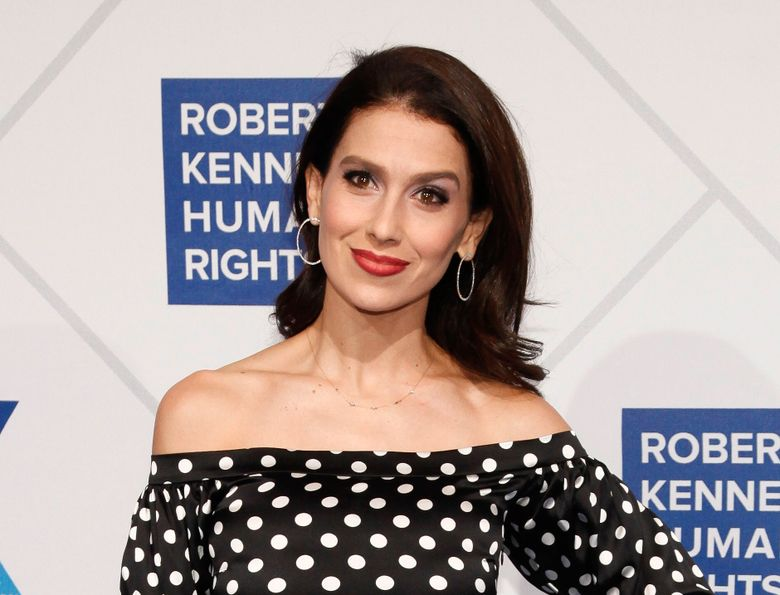 """FILE – This Dec. 12, 2018 file photo shows Hilaria Baldwin at the 2018 Robert F. Kennedy Human Rights Ripple of Hope Awards in New York. Baldwin has confirmed on Instagram that she had a miscarriage. In an essay for Glamour magazine, Baldwin wrote she chose to share the moment because having a miscarriage would hurt if she """"went through it in silence.""""  (Photo by Andy Kropa/Invision/AP, File)"""