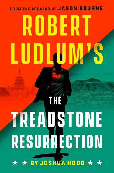 """This cover image released by Putnam shows """"Robert Ludlum's The Treadstone Resurrection,"""" by Joshua Hood, coming out Sept. 17. Putnam announced Wednesday, April 17, 2019, that it had a four-book deal with the late author's estate for two thrillers each in the Bourne and Treadstone series. (Putnam via AP)"""