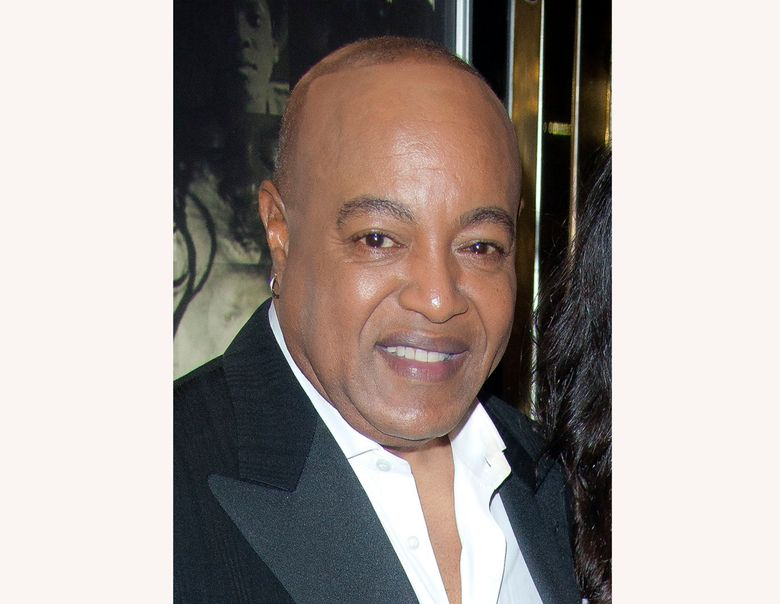 """FILE – This Nov. 2, 2011 file photo shows Peabo Bryson at the European premiere of """"Michael Jackson: The Life Of An Icon,"""" in London. A rep for Bryson says the R&B singer, known for hits such as """"Beauty & the Beast"""" and """"A Whole New World,"""" is hospitalized after suffering a """"mild heart attack."""" A statement released Monday, April 29, 2019, said the double Grammy-winner was stricken Saturday morning and is now in stable condition. (AP Photo/Joel Ryan, File)"""