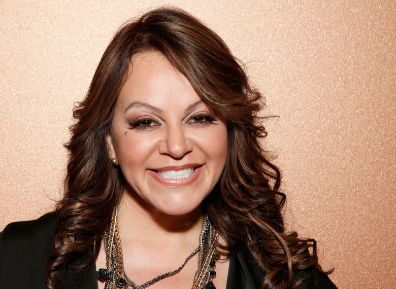 FILE – In this Aug. 24, 2012 file photo, Jenni Rivera attends a press conference, in Woodland Hills, California. A documentary on Jenni Rivera with unseen footage from her last moments is heading to the screen under the direction and production of Emilio Estefan, it was announced Thursday, April, 25, 2019. (Photo by Todd Williamson/Invision/AP, File)