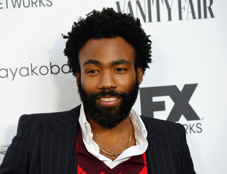 """FILE – In this Sept. 16, 2018 file photo, Donald Glover, creator and star of the FX series """"Atlanta,"""" and a musician who performs under the name Childish Gambino, poses at a private cocktail party to celebrate the FX network's Emmy nominations in Los Angeles. Glover and Rihanna's secretive new film """"Guava Island"""" is coming to Amazon Prime Video this weekend. Glover tweeted Wednesday, April 10, 2019, that it'd be available to stream for free starting Saturday at 12:01 am.  (Photo by Chris Pizzello/Invision/AP, File)"""