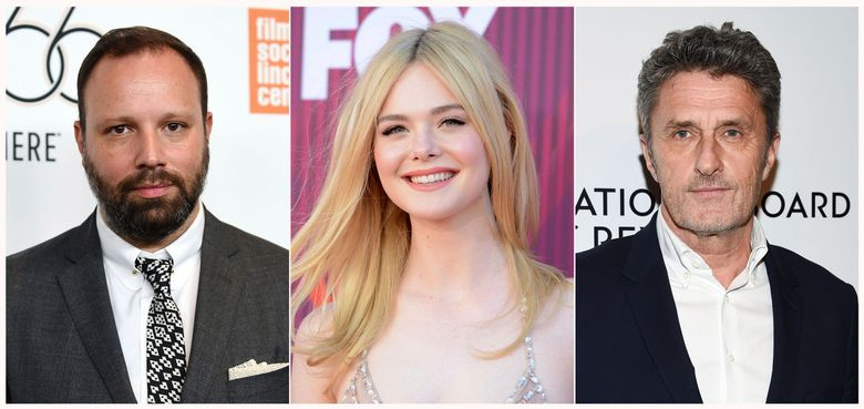"""This combination photo shows, from left, director Yorgos Lanthimos, actress Elle Fanning and filmmaker Pawel Pawlikowski, who are joining the Cannes Film Festival jury. The Cannes Film Festival will open May 14 with the premiere of Jim Jarmusch's """"The Dead Don't Die."""" The festival runs through May 25. (AP Photo)"""