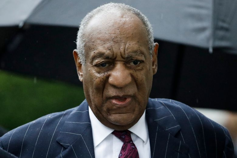 FILE – In this Sept. 25, 2018, file photo, Bill Cosby arrives for his sentencing hearing at the Montgomery County Courthouse in Norristown Pa. A fee dispute between Cosby and a Los Angeles law firm shows the firm billed him about $1 million a month in the run-up to his first sex assault trial. The 81-year-old Cosby is challenging a California arbitration award that trims the $9 million bill from Quinn Emanuel Urquhart and Sullivan to below $7 million. (AP Photo/Matt Rourke, File)