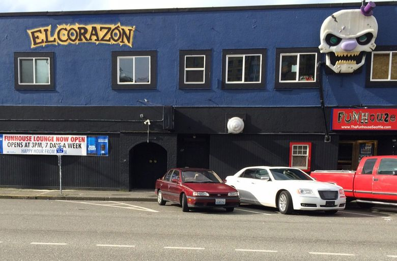 Pearl Jam, as Mookie Blaylock, played its first show at the Off Ramp Cafe, which is now El Corazón. (Bill Reader / The Seattle Times)