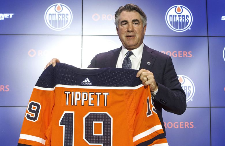 """New Edmonton Oilers coach Dave Tippett says he'll miss the energy of the NHL Seattle group for which he spent just less than a year as a senior adviser on hockey infrastructure. But the """"day to day energy"""" of coaching proved too big a lure for Tippett, who last coached the Arizona Coyotes two years ago. (Jason Franson/The Canadian Press via AP)"""