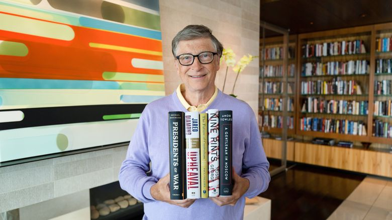Bill Gates recommends these books for your summer reading.