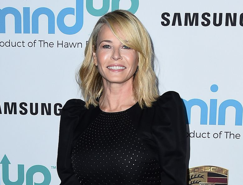 """FILE – This Nov. 3, 2017 file photo shows Chelsea Handler at the 2017 Goldie's Love In For Kids in Beverly Hills, Calif. Handler is  easing into the podcast landscape with a limited series recorded live from her current tour promoting her latest best-selling memoir """"Life Will Be the Death of Me."""" (Photo by Jordan Strauss/Invision/AP, File)"""