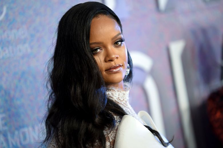 FILE – In this Sept. 13, 2018 file photo, singer Rihanna attends the 4th annual Diamond Ball at Cipriani Wall Street in New York. Rihanna is partnering with LVMH Moët Hennessy Louis Vuitton to launch a new fashion label. The pop star, born Robyn Rihanna Fenty, announced Friday, May 10, 2019, that a new line called Fenty will debut this spring and will be based in Paris.   (Photo by Evan Agostini/Invision/AP, File)