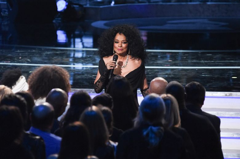 """FILE – In a Tuesday, Feb.12, 2019 file photo, Diana Ross performs during Motown 60: A GRAMMY Celebration at the Microsoft Theater in Los Angeles. Diana Ross says she feels """"violated"""" by an airport screener who touched her between her legs after she performed at the New Orleans Jazz and Heritage Festival. In a series of tweets on Sunday, May 5, 2019, the Motown legend says she blames the Transportation Security Administration for an """"over the top!!"""" screening at the New Orleans airport that makes her want to cry.  (Photo by Richard Shotwell/Invision/AP, File)"""