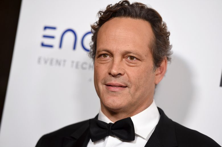 """FILE – In this Thursday, Nov. 29, 2018 file photo, Vince Vaughn arrives at the American Cinematheque Award ceremony honoring Bradley Cooper at the Beverly Hilton Hotel in Beverly Hills, Calif. Actor Vince Vaughn has been convicted of reckless driving after his arrest for failing a drunken driving test last year. An attorney for the 49-year-old """"Wedding Crashers"""" star entered a no contest plea to the misdemeanor count Friday, May 3, 2019 in Los Angeles Superior Court. Vaughn was sentenced to three years of probation and ordered to complete a three-month alcohol program.(Photo by Jordan Strauss/Invision/AP, File)"""