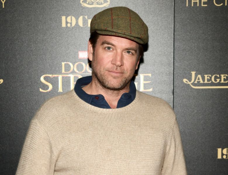 """FILE – In this Nov. 1, 2016 file photo, Michael Weatherly attends a special screening of """"Doctor Strange"""" at AMC Empire 25 in New York. CBS is defending its handling of a sexual harassment by Weatherly, star of the drama series """"Bull."""" CBS Entertainment President Kelly Kahl said Wednesday that Weatherly """"owned"""" his mistake and was apologetic and remorseful. Last year, CBS reached a $9.5 million confidential settlement with actress Eliza Dushku after she alleged on-set sexual comments from Weatherly made her uncomfortable. (Photo by Andy Kropa/Invision/AP, File)"""