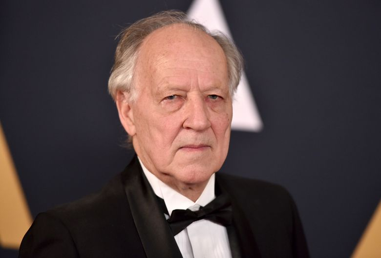"""FILE – In this Nov. 12, 2016 file photo, Werner Herzog arrives at the 2016 Governors Awards in Los Angeles. Herzog is calling """"The Mandalorian"""" a phenomenal achievement"""" after joining the cast of the streaming series set in the """"Star Wars"""" universe. The series, starring Pedro Pascal, Gina Carano and Carl Weathers, is set to premiere in November 2019. with the launch of the new Disney Plus streaming service. (Photo by Jordan Strauss/Invision/AP, File)"""